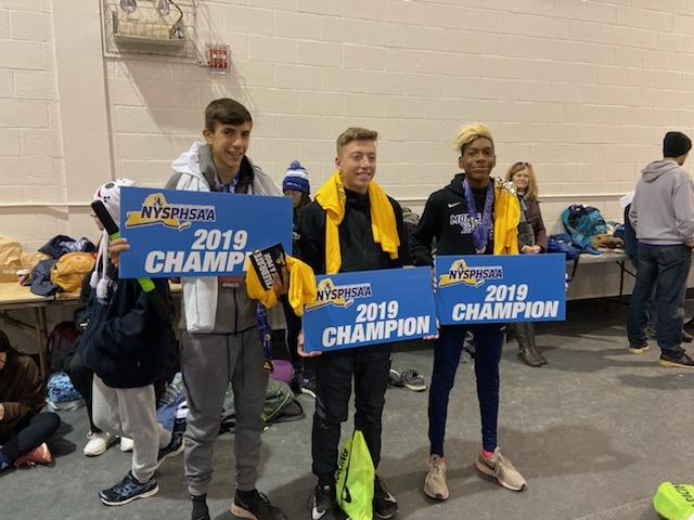 boys champions NYSPHSAA meet